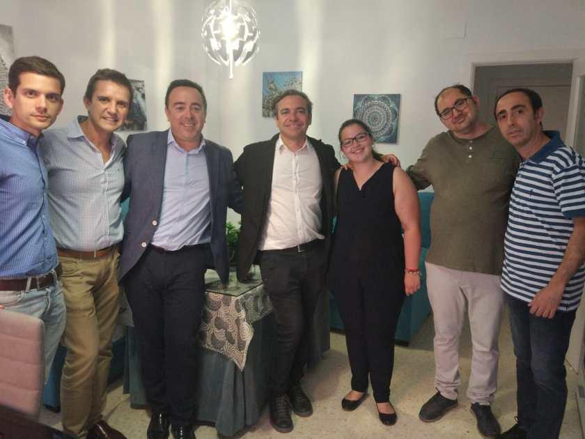Visita de Emvisesa a las viviendas cedidas a Paz y Bien.