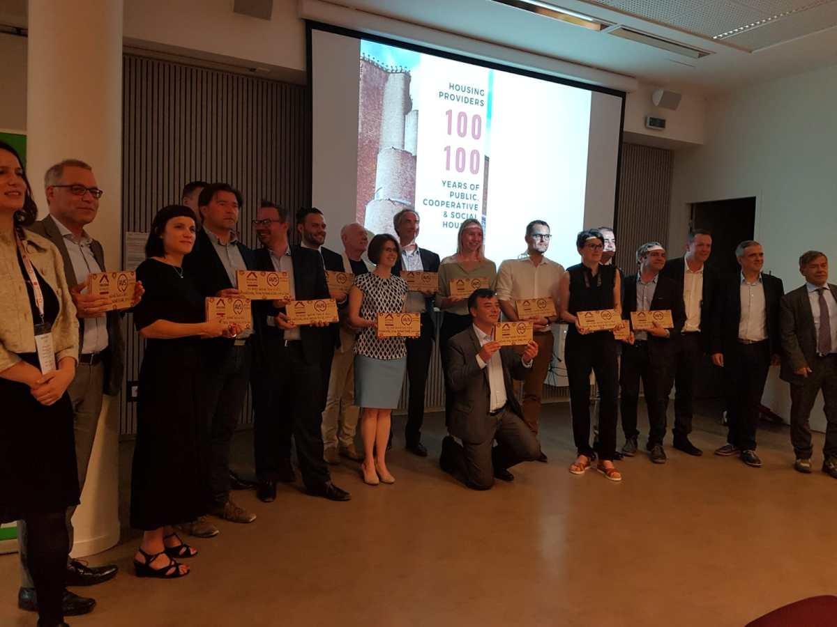 La Empresa Municipal de la Vivienda de Sevilla premiada en el Festival Internacional de Vivienda Social celebrado en Lyon