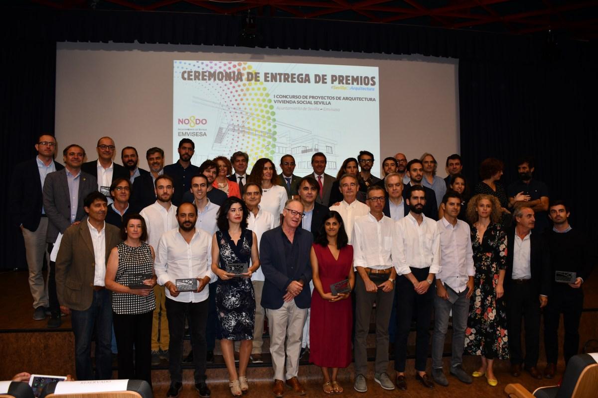 Emvisesa resuelve, en el Primer Concurso de Proyectos de Arquitectura de Vivienda Social de Sevilla, la adjudicación de los diseños y la redacción de proyectos de 7 promociones de VPO públicas con 613 nuevas viviendas
