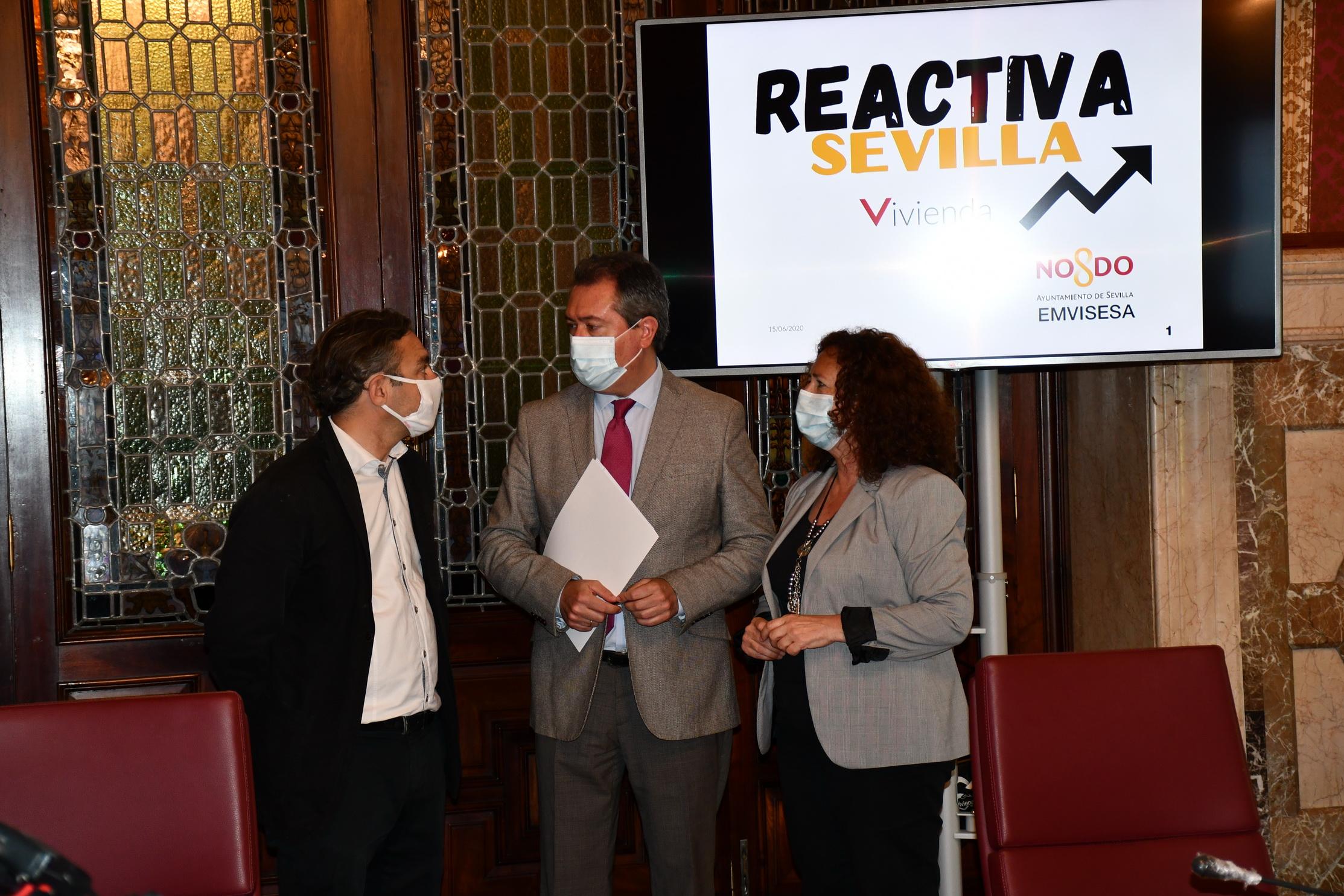 El Ayuntamiento de Sevilla abre una convocatoria gestionada por Emvisesa para la promoción de 1.000 viviendas en alquiler asequible de promoción privada en la ciudad que pueden suponer una inversión de 100 millones de euros