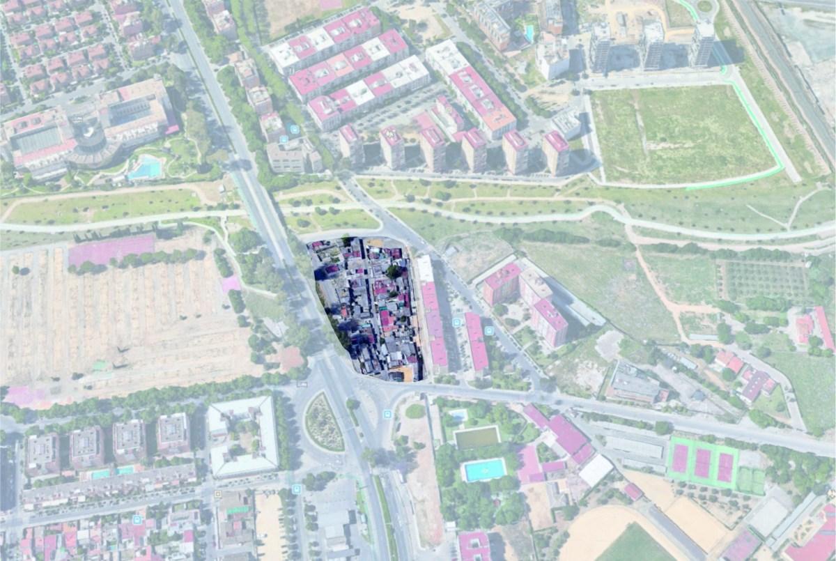 El Ayuntamiento de Sevilla, a través de EMVISESA, avanza en el plan de adquisición y derribo de las viviendas deterioradas de Guadaíra Sur donde se desarrollará una promoción de 143 VPO