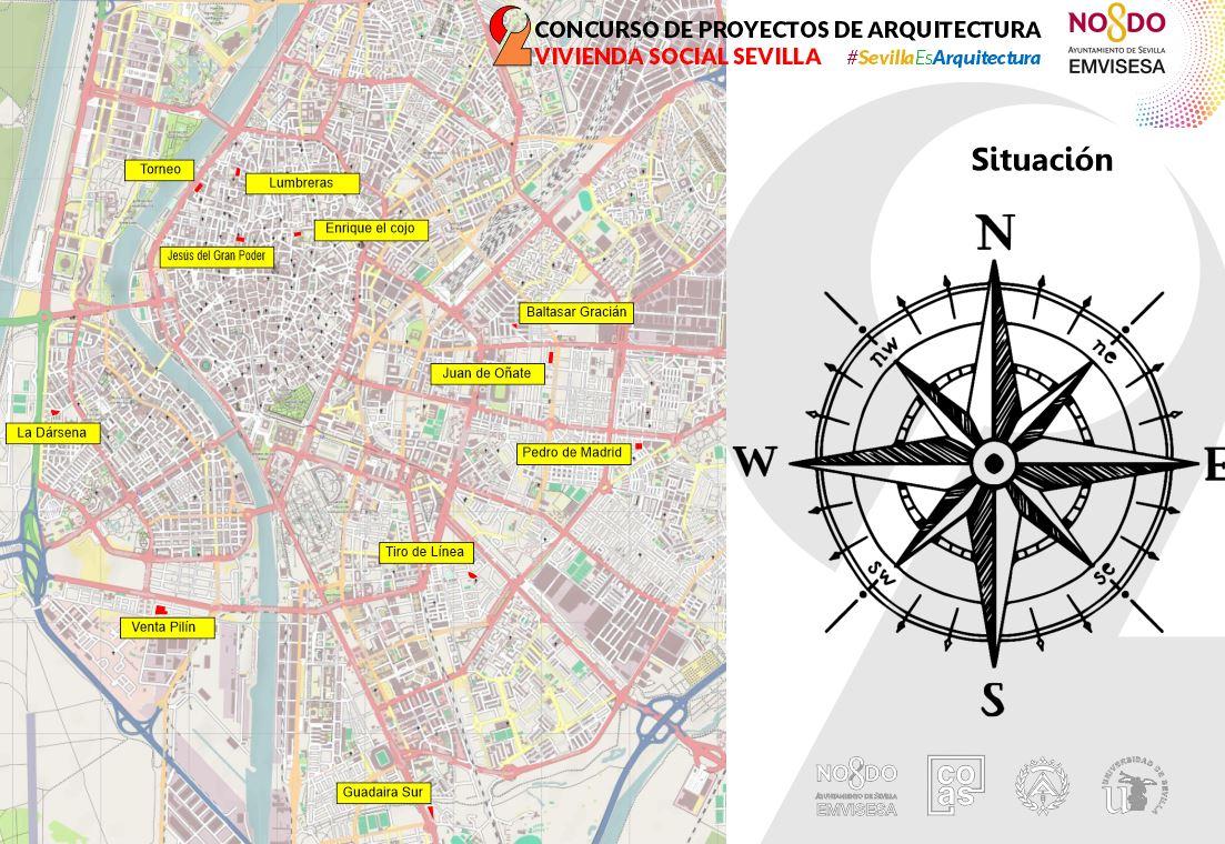 """Emvisesa abre el plazo para participar en el """"II Concurso de proyectos de arquitectura social de Sevilla"""" y presentar proyectos para diseñar 332 nuevas viviendas y alojamientos colaborativos"""