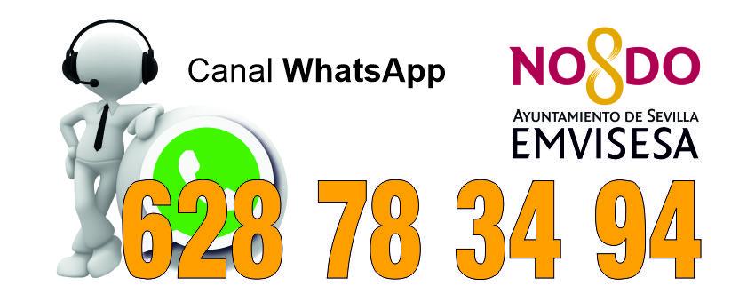 Emvisesa inaugura un servicio de atención al ciudadano a través de WhatsApp
