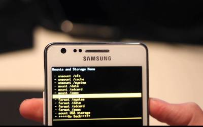 Flashing Samsung Smartphone with Custom/Stock ROM using Odin tool