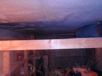 ガレージ天井収納