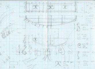ロートアイアンデザイン図