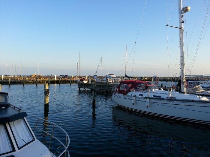 Le port d'Enøby, proche de Næstved