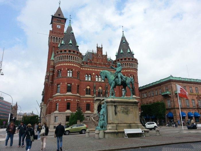 Centre-ville d'Helsingborg