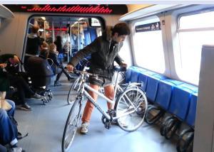 intérieur wagon vélo stog