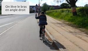 s'arrêter code de la route danois à vélo