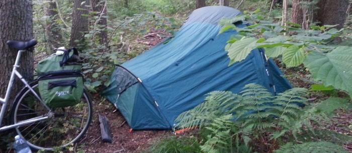 Camping sauvage Quechua Forclaz 3
