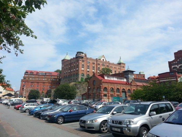 L'architecture très rouge de Göteborg