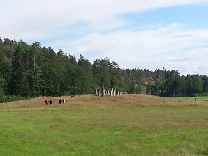 Menhir Suède