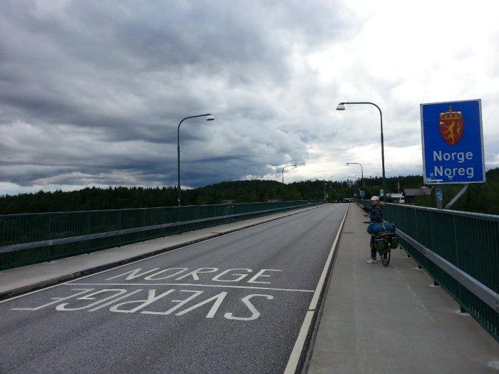 Frontière Suède Norvège Svinesund
