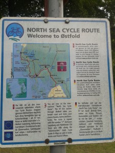 Balisage EuroVelo 12 North See Cycle Route