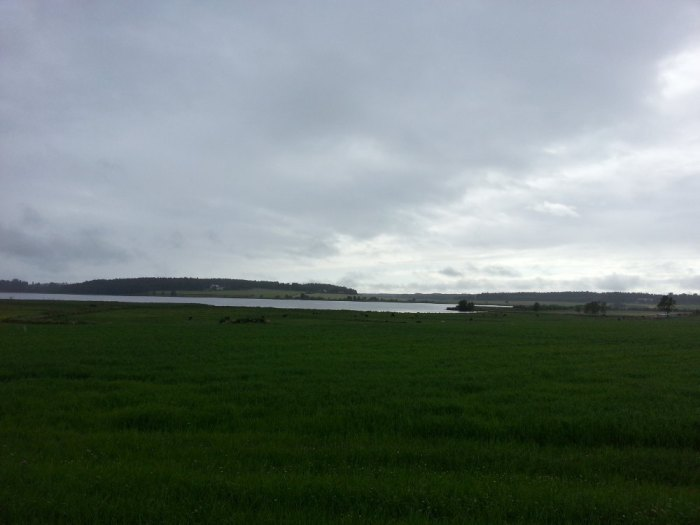 Paysage tourmenté entre Karlstad et Kristinehamn