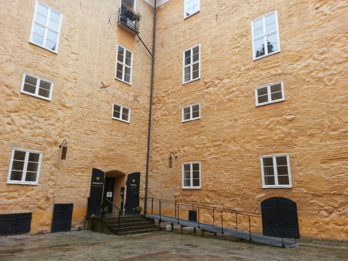 Château deVästerås - cour intérieure