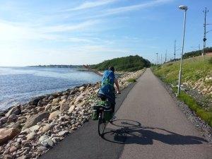Bord de mer vélo Suède