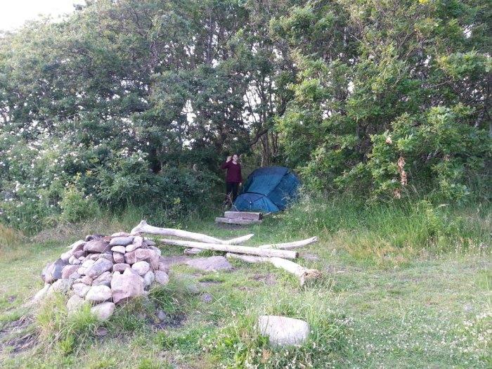Camping sauvage Suède