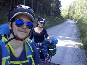 Voyager à vélo en couple