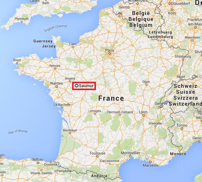 Saumur en France