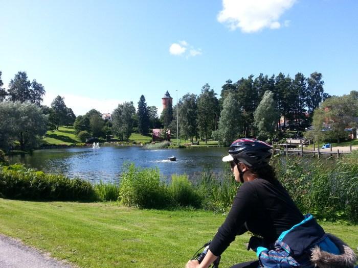 Profiter du paysage voyage à vélo