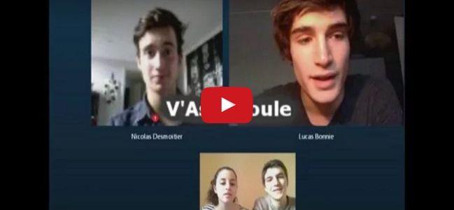 """[Vidéo] Nicolas et Lucas de """"V'Asie Roule"""" nous parlent de leur voyage à vélo solidaire et humanitaire !"""