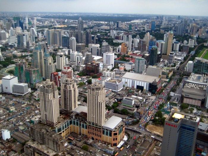 Bangkok vue du ciel