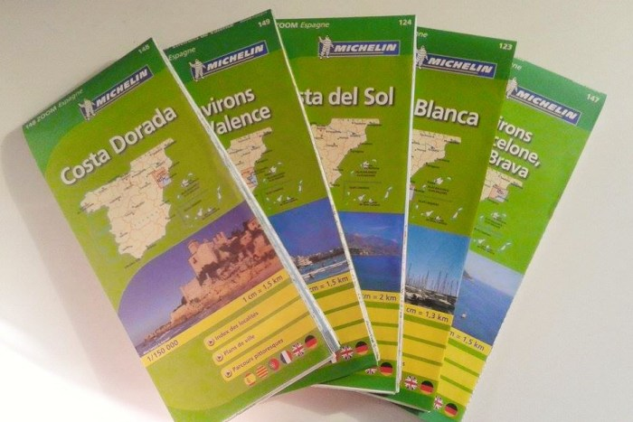 Cartes vélo Espagne