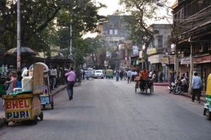 Dans les rues de Calcutta
