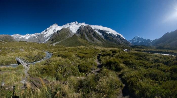 La beauté des paysages de Nouvelle-Zélande