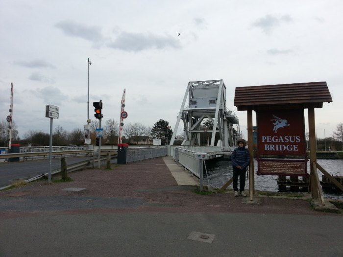 Le Pegasus Bridge à Bénouville
