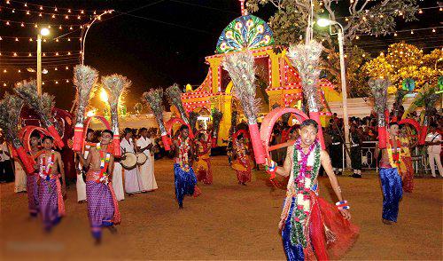 Le festival de Kataragama