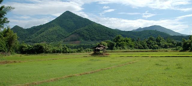 Montagne en Thaïlande