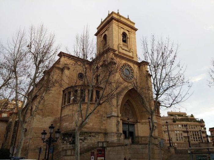 La cathédrale d'Albacete