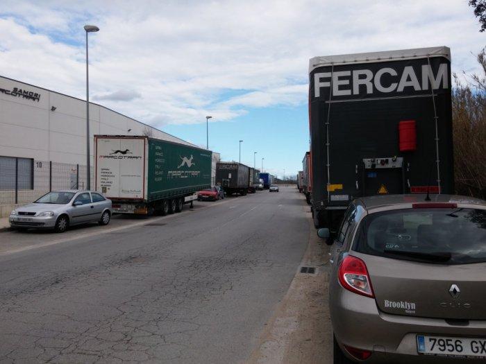 Le monde des camions à Palafolls