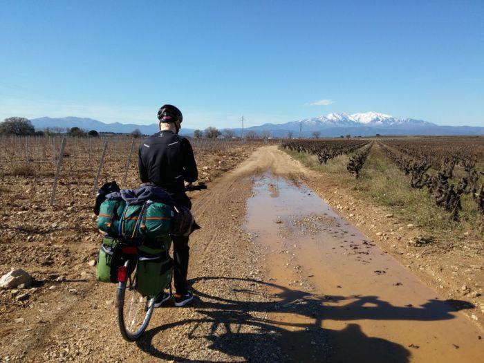Piste de montagne sortie Perpignan
