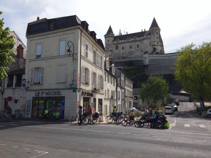 Vélos volants Château de Saumur