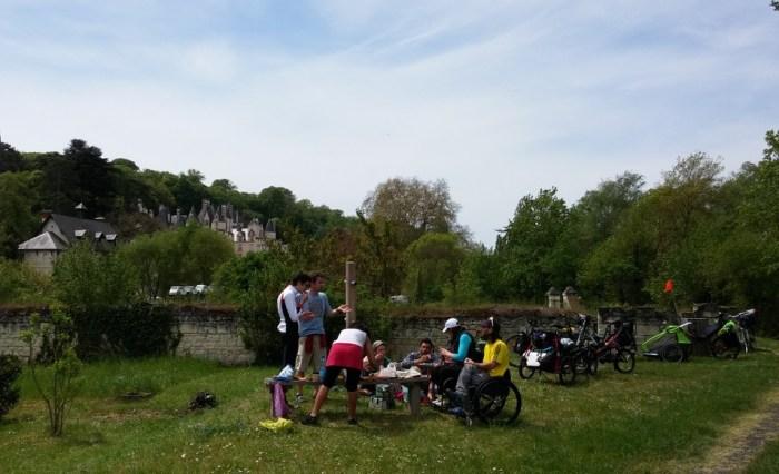 Pique-nique Loire à vélo