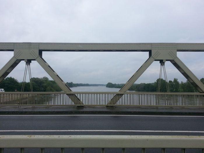 Pont sur la Loire à Chalonnes-sur-Loire