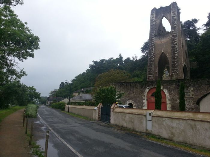 Ruine à Montjean-sur-Loire