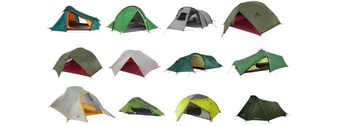 Comparatif tentes de randonnée légère