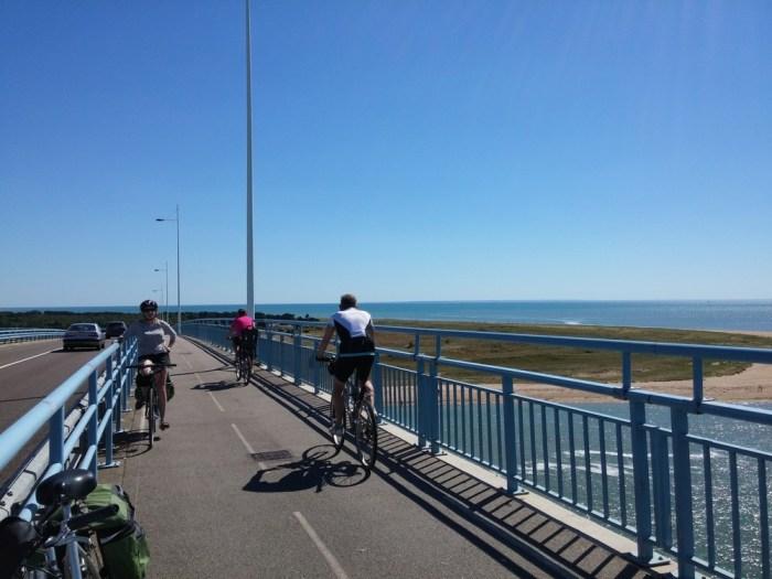 La traversée du pont de Noirmoutier