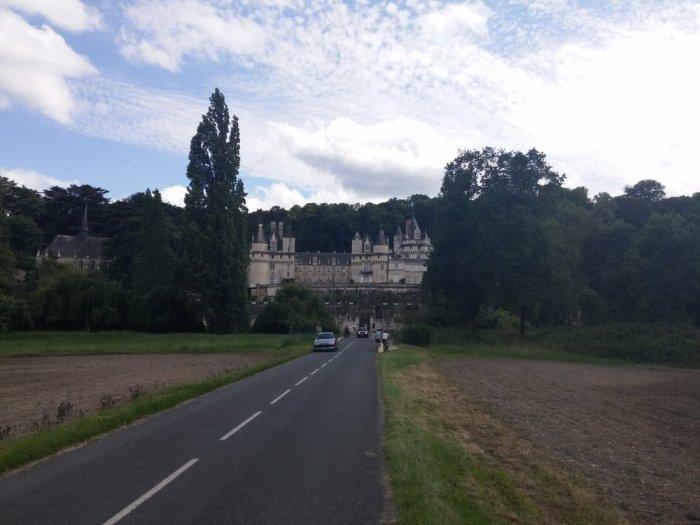 L'arrivée sur le château d'Ussé