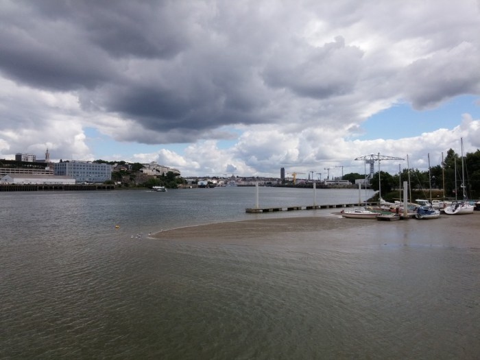 Panorama sur Nantes