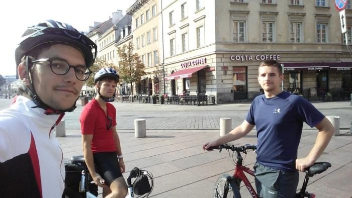 Varsovie à vélo