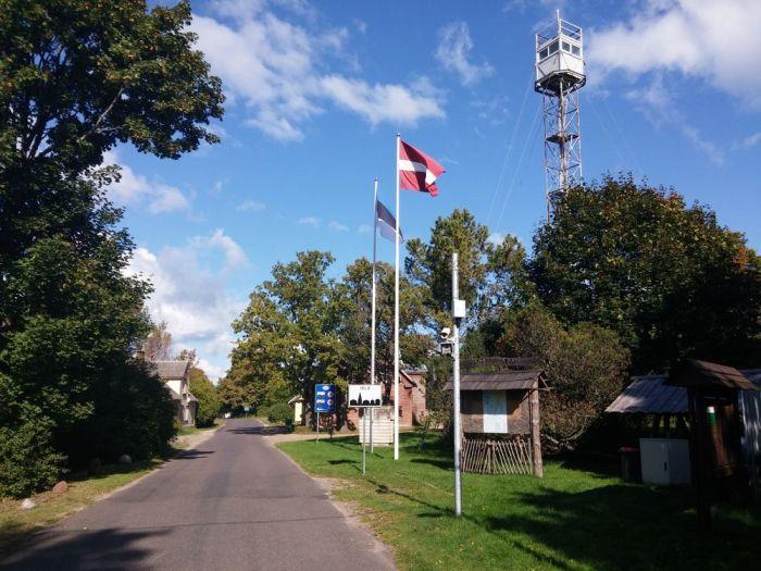 La frontière estonienne
