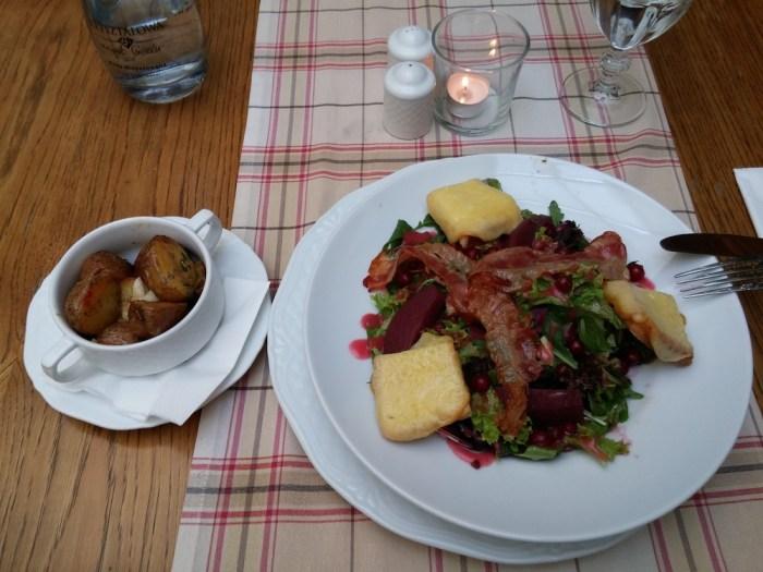 Salade de pommes de terre polonaise