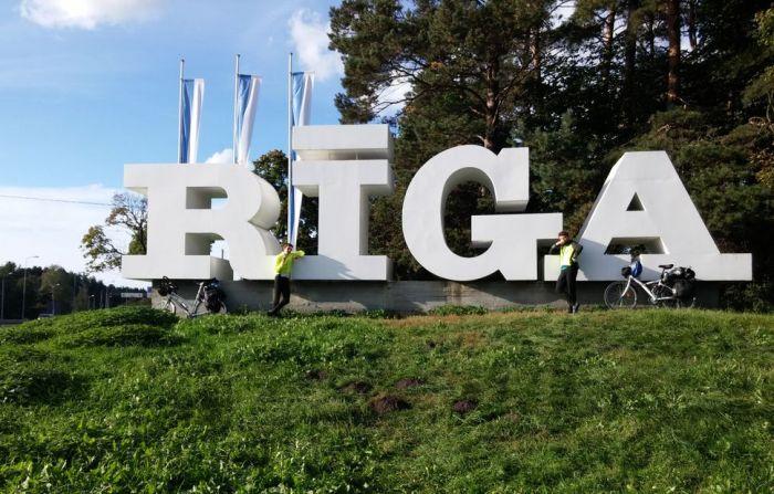 arrivée sur Riga