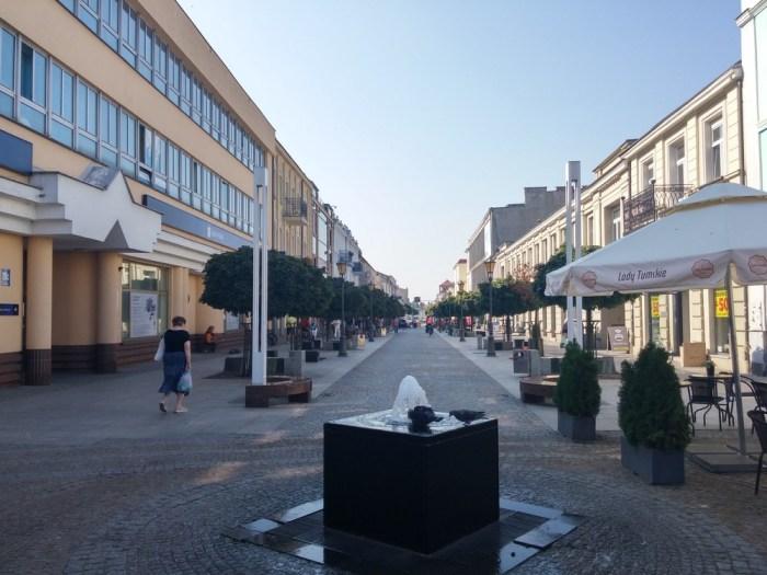centre-ville de plock